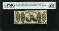 Fractional Currency:Third Issue, Fr. 1367 50¢ Third Issue Justice PMG Choice About Unc 58 EPQ.. ...