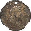 Colonials, 1820 TOKEN North West Company Token, Brass, VF20 NGC. Breen-1083, W-9250, R.4....