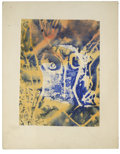 Texas:Early Texas Art - Impressionists, JOSEPHINE MAHAFFEY (American, 1903-1982). Untitled, abstraction.Watercolor on paper, mounted on mat board. Signed to lower ...