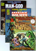 Magazines:Science-Fiction, Marvel Magazines Sci-Fi Group (Marvel, 1975-78) Condition: AverageNM-.... (Total: 10)