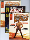 Magazines:Humor, Doc Savage Group (Marvel, 1975-76) Condition: Average NM-....(Total: 5)