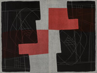 Louise Nevelson (1899-1988) Double Imagery, 1967 Lithograph in colors on wove paper, two sheets 3
