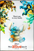 "Movie Posters:Animation, Lilo & Stitch (Buena Vista, 2002). Rolled, Fine+. Lenticular One Sheet (27"" X 40"") Advance. Animation.. ..."
