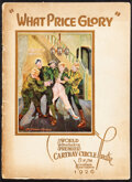 """Movie Posters:War, What Price Glory (Fox, 1926). Fine/Very Fine. Program (32 Pages, 8"""" X 11""""). War.. ..."""