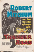 """Movie Posters:Crime, Thunder Road & Other Lot (United Artists, 1958). Folded, Fine+. One Sheets (2) (27"""" X 41""""). Crime.. ... (Total: 2 Items)"""
