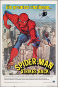 "Movie Posters:Action, Spider-Man Strikes Back (Columbia, 1978). Folded, Fine/Very Fine. One Sheet (27"" X 41""). Action.. ..."