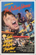 """Movie Posters:Rock and Roll, Let's Spend the Night Together & Other Lot (Embassy, 1983). Folded, Very Fine+. One Sheet (27"""" X 41"""") & Lobby Cards (3) (11""""... (Total: 4 Items)"""
