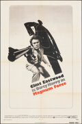 """Movie Posters:Action, Magnum Force (Warner Bros., 1973). Folded, Fine+. One Sheet (27"""" X 41""""), Lobby Cards (6) (11"""" X 14""""), & Mini Lobby Card (8"""" ... (Total: 8 Items)"""