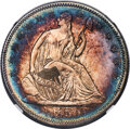 Proof Seated Half Dollars, 1859 50C PR65 Cameo NGC....
