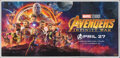 """Movie Posters:Action, Avengers: Infinity War (Walt Disney Pictures, 2018). Rolled, Very Fine+. Indian Six Sheet (53.5"""" X 111""""). Action.. ..."""