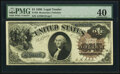 Large Size:Legal Tender Notes, Fr. 33 $1 1880 Legal Tender PMG Extremely Fine 40.. ...