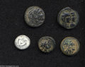 Ancients:Greek, Ancients: Lot of four coins of the Hellenistic kingdoms. Includes:Macedonian Kingdom. Alexander III. AE 18. Good VF // SeleukidKingd... (Total: 5 coins Item)