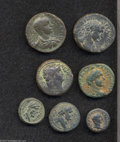 Ancients:Roman, Ancients: Lot of seven bronze coins of the Holy Land. Includes:Syria, Decapolis. Gadara. Nero. Spijkerman 22. Fine // Syria,Decapoli... (Total: 7 coins Item)
