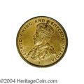 British Honduras: , British Honduras: George V 1 Cent 1912H, KM15, sharply struck Unc. with prooflike surfaces and some original mint color remaining. Extremely R...