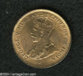 British Honduras: , British Honduras: George V 1 Cent 1926, KM19, lustrous Unc. and mostly brilliant. Very scarce as such. The example in the R.J. Ford Collection...