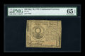 Colonial Notes:Continental Congress Issues, Continental Currency May 10, 1775 $30 PMG Gem Uncirculated 65EPQ....