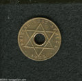 British West Africa: , British West Africa: Elizabeth II Halfpenny 1952, KM27a, FT-249A,lightly toned and spotted Proof.. From the Professor WayneNewton Palmer Coll...