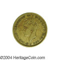 British West Africa: , British West Africa: George VI Shilling 1946H, KM23, FT-75, Finewith rim bumps. Extremely rare, and possibly one of only threepieces known.. ...