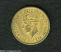British West Africa: , British West Africa: George VI 2 Shilling 1952 KN, KM-Pn11, FT-312,as the normal currency issue, but the reverse has the word SPECIMENin the fi...