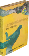 Books:Mystery & Detective Fiction, Tony Hillerman. Listening Woman. New York: [1978]. First edition, review copy. Inscribed by the author to Otto Pen...
