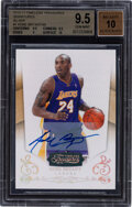 Basketball Cards:Singles (1980-Now), 2010-11 Timeless Treasures Signatures Kobe Bryant (Silver) #1 BGS Gem Mint 9.5, Autograph 10 - #11/99. ...