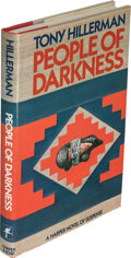 Books:Mystery & Detective Fiction, Tony Hillerman. People of Darkness. New York: [1980]. First edition, review copy. Inscribed by the author to Otto ...