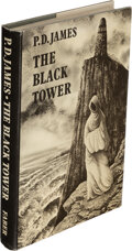 Books:Mystery & Detective Fiction, P. D. James. The Black Tower. London: [1975]. First edition, review copy. Signed....