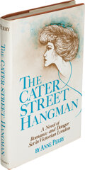 Books:Mystery & Detective Fiction, Anne Perry. The Cater Street Hangman. New York: [1979]. First edition, review copy. Presentation inscription to Ot...