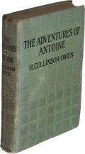 Books:Mystery & Detective Fiction, H. Collinson Owen. The Adventures of Antoine. London: [circa 1919]. First edition. Inscribed by the author to fell...