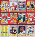 Football Cards:Sets, 1984 and 1985 USFL High Grade Complete Sets (2). ...