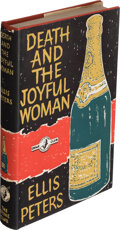 Books:Mystery & Detective Fiction, Ellis Peters. Death and the Joyful Woman. London: [1961]. First edition. Presentation copy, inscribed to Carolyn a...