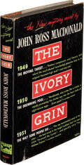 Books:Mystery & Detective Fiction, John Ross Macdonald. The Ivory Grin. New York: 1952. First edition. Inscribed by the author to Otto Penzler....