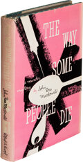 Books:Mystery & Detective Fiction, John Ross Macdonald. The Way Some People Die. New York: 1951. First edition....
