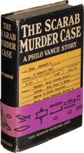 Books:Mystery & Detective Fiction, S. S. Van Dine. The Scarab Murder Case. New York: 1930. First edition. Inscribed by the author....