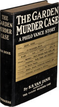 Books:Mystery & Detective Fiction, S. S. Van Dine. The Garden Murder Case. New York: 1935. First edition. Inscribed by the author....