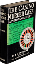 Books:Mystery & Detective Fiction, S. S. Van Dine. The Casino Murder Case. New York: 1934. First edition. Inscribed by the author....