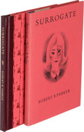 Books:Mystery & Detective Fiction, Robert B. Parker. Two Copies of Surrogate. Northridge, California: 1982. First editions, signed and limited, o... (Total: 2 )
