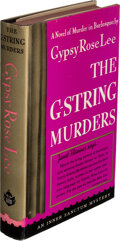 Books:Mystery & Detective Fiction, Gypsy Rose Lee. The G-String Murders. New York: 1941. First edition. Inscribed by the author....