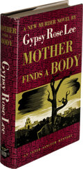 Books:Mystery & Detective Fiction, Gypsy Rose Lee. Mother Finds a Body. New York: 1942. First edition. Presentation copy, inscribed by the author....