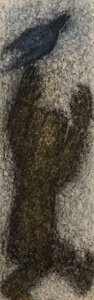 Works on Paper, Michel Haas (American/French/German, b. 1934). Untitled, 1983. Mixed media. 63 x 22 inches (160 x 55.9 cm). Signed lower...