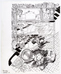 Original Comic Art:Panel Pages, Michael Kaluta Madame Xanadu #12 Story Page 1 Original Art (DC Comics, 2009)....