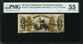 Fractional Currency:Third Issue, Fr. 1371 50¢ Third Issue Justice PMG About Uncirculated 55.. ...