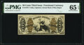 Fractional Currency:Third Issue, Fr. 1370 50¢ Third Issue Justice PMG Gem Uncirculated 65 EPQ.. ...