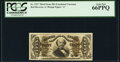 Fractional Currency:Third Issue, Fr. 1327 50¢ Third Issue Spinner PCGS Gem New 66PPQ.. ...