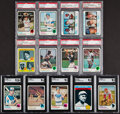 Baseball Cards:Sets, 1973 Topps Baseball Complete Set (660) Plus Blue Team Checklist (24). ...