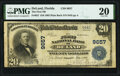 National Bank Notes:Florida, DeLand, FL - $10 1902 Plain Back Fr. 627 The First National Bank Ch. # 9657 PMG Very Fine 20.. ...