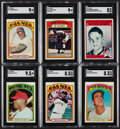 Baseball Cards:Sets, 1972 Topps Baseball Complete Set (787) With Wrapper. ...
