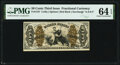 Fractional Currency:Third Issue, Fr. 1347 50¢ Third Issue Justice PMG Choice Uncirculated 64 EPQ.. ...