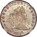 Early Dollars, 1799 $1 7x6 Stars, B-8, BB-165, R.3, MS61 NGC....
