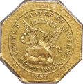 Territorial Gold , 1852 $50 Assay Office Fifty Dollar, 887 Thous. AU53 PCGS. K-13, Low R.5....